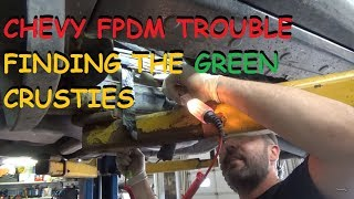 Chevrolet Fuel Pump Driver Problems - Where Is The Broken Wire