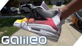 Diese Sneakers wechseln die Farbe | Galileo | ProSieben