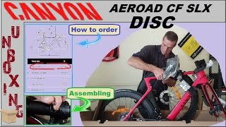 Canyon Aeroad CF SLX disc - Unbox & how to buy