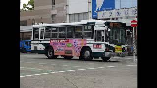 三重交通 いすゞU-LT332J(IKコーチ  キュービックLT 前中扉) 三重22き792(社番C-3782) 走行音③(DD5速MT ロッド式)