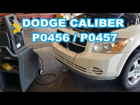 Dodge Caliber p0456 p0457 MOST COMMON Problems for evap leak