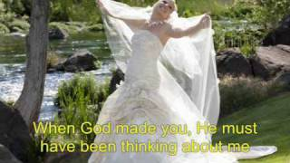 When God Made You-Newsong with Natalie Grant (With Lyrics)