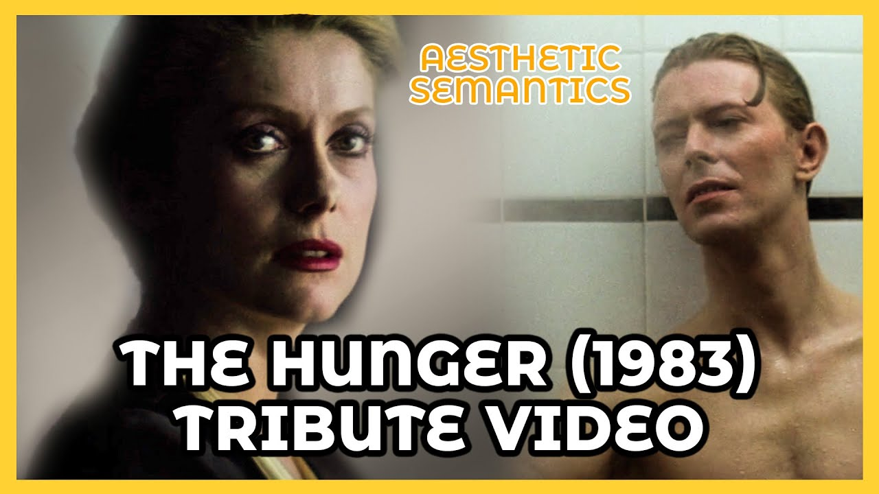 Download The Hunger 1983 TRIBUTE - Catherine Deneuve David Bowie 4K - Synthwave: Downtown Binary - Paradox