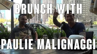 Brunch with Paulie Malignaggi in Chicago