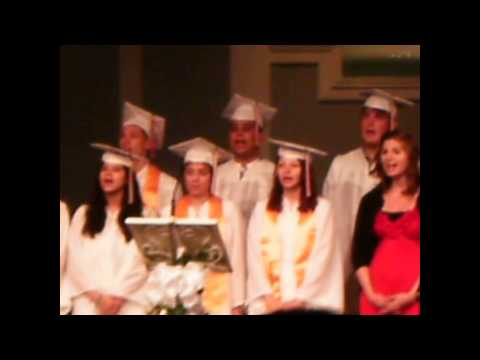 2012 Eastland Christian School Graduation Ceremony (A little shakey)