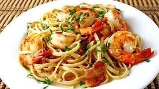 Аппетитный  рецепт   Блюдо  Паста с морепродуктами