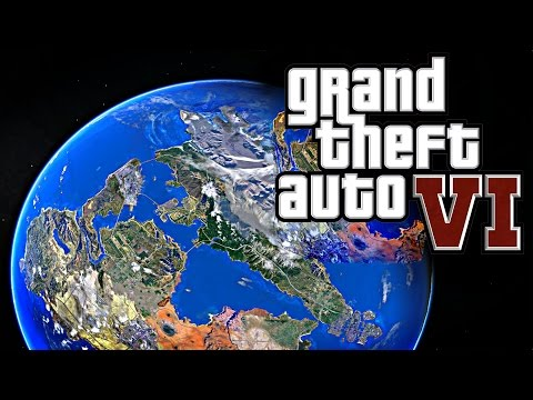 GTA 6 NEWS! UPDATED HUGE GTA 6 MAP - Grand Theft Auto VI NEW MAP LOCATION & MORE!