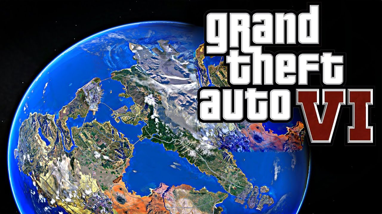 updated huge gta 6 map grand theft auto vi new map location more youtube