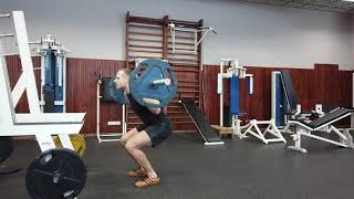 Bring Sally Up Squat Challenge at Lithuanian Sports University