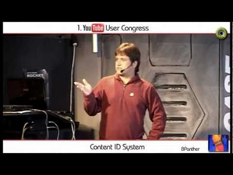 """BPanther """"ContentID System"""" - YouTube User Congress Vortrag"""