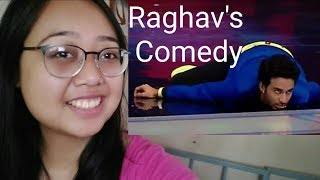 Reaction - Raghav Juyal Best Comedy part 15|Raghav's funny moments ever Unlimited