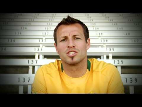 Lucas Neill, Australian Socceroo & West Ham FC, gets behind Homeless World Cup