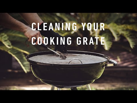 WEBER TIPS: Keeping your grill grate clean!
