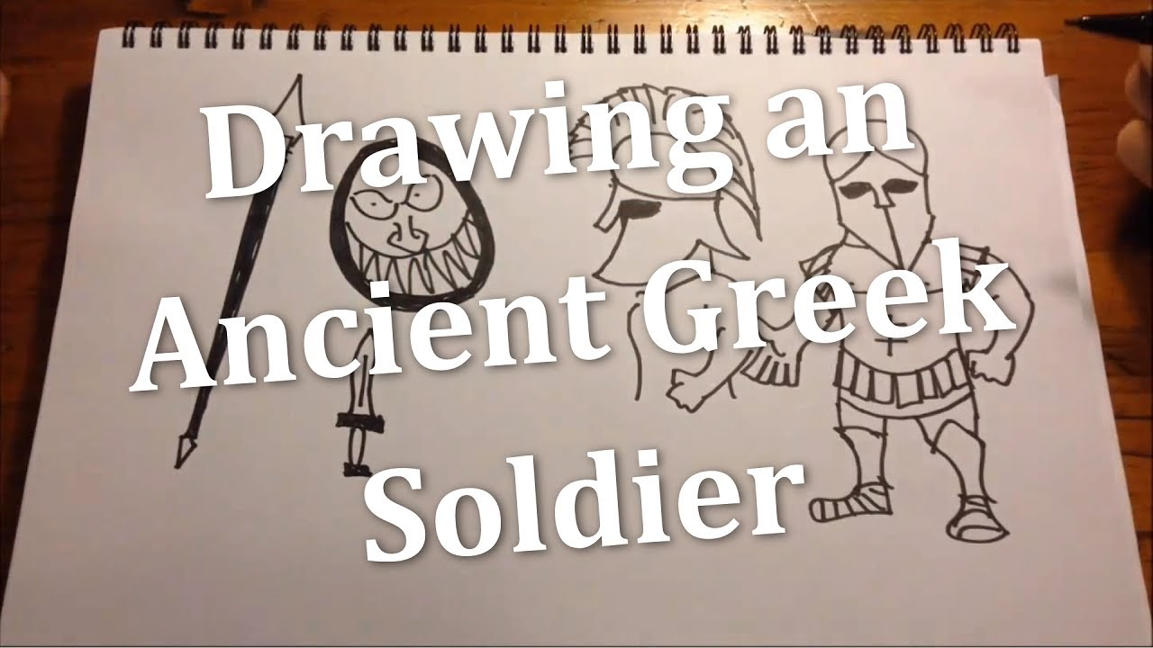 ancient Greek soldier  YouTube