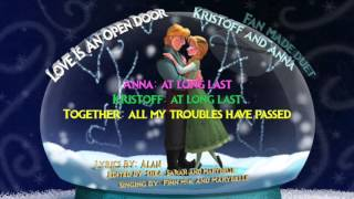 kristanna love is an open door disney s frozen fan made duet with finn m k