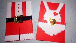 Tarjetas navideñas(Sr. y Sra.Claus)