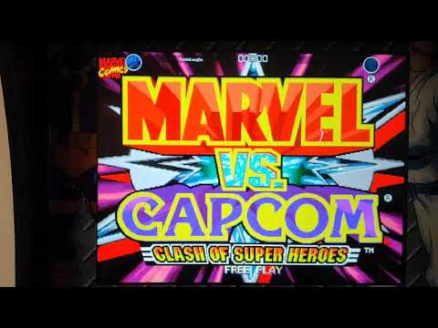 X-Men vs Street Fighter,(Arcade 1Up) more online play and online record talk. from Footie Laughs