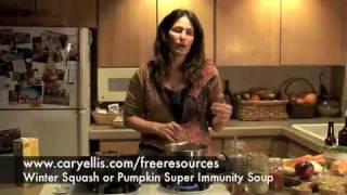 Vegetarian Squash or Pumpkin Soup