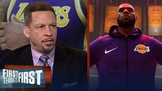 Chris Broussard is confident Lakers will land top tier FA & next coach | NBA | FIRST THINGS FIRST