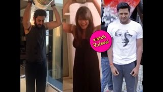 ALS Ice Bucket Challenge: Riteish, Bipasha, Sania Mirza dump ice water over their heads!-review