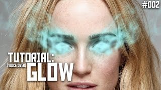 Glowing Effect - Photoshop Tutorial (Voice Over)
