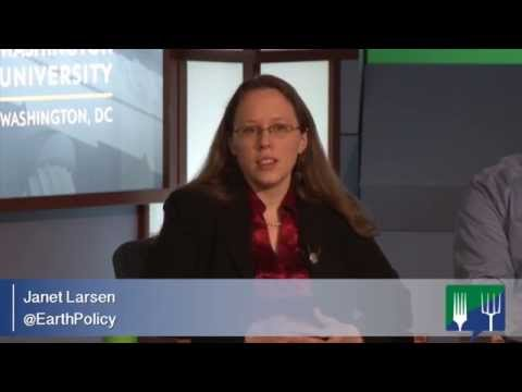 Pushing for Better Agriculture Research and Policy - Janet Larsen, Earth Policy Institute
