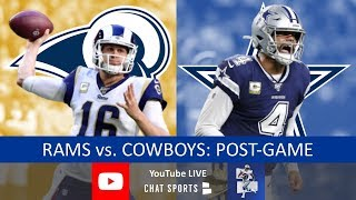 Cowboys vs. Rams Live Stream Reaction & Updates On Highlights - NFL Week 15