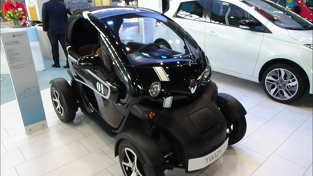 2016 renault twizy black sport edition exterior and interior i mobility stuttgart 2016. Black Bedroom Furniture Sets. Home Design Ideas