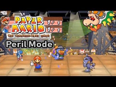 Paper Mario: TTYD - Glitz Pit (Major League) - Peril Mode
