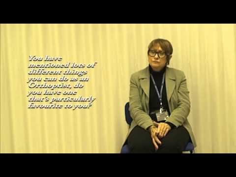 An interview with Professor Gail Stephenson, Head of Orthoptics, University of Liverpool
