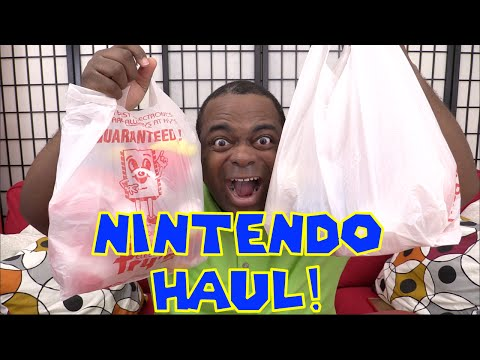 NINTENDO PLUSHIES HAUL!