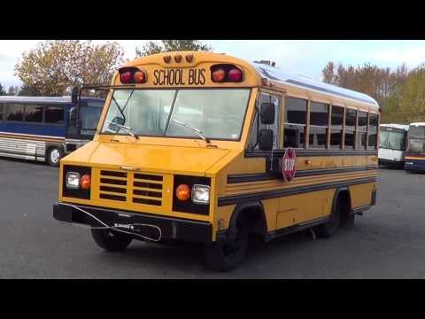 Northwest Bus Sales  2001 Blue Bird Mini Bird 24 Passenger School Bus For Sale  B27255
