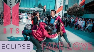 [KPOP IN PUBLIC] BTS (방탄소년단) - FAKE LOVE Full Dance Cover at Fanime 2018 [ECLIPSE]