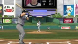 MLB 2K9 PC Gameplay MIN Twins @ KC Royals 20090925 2nd Top
