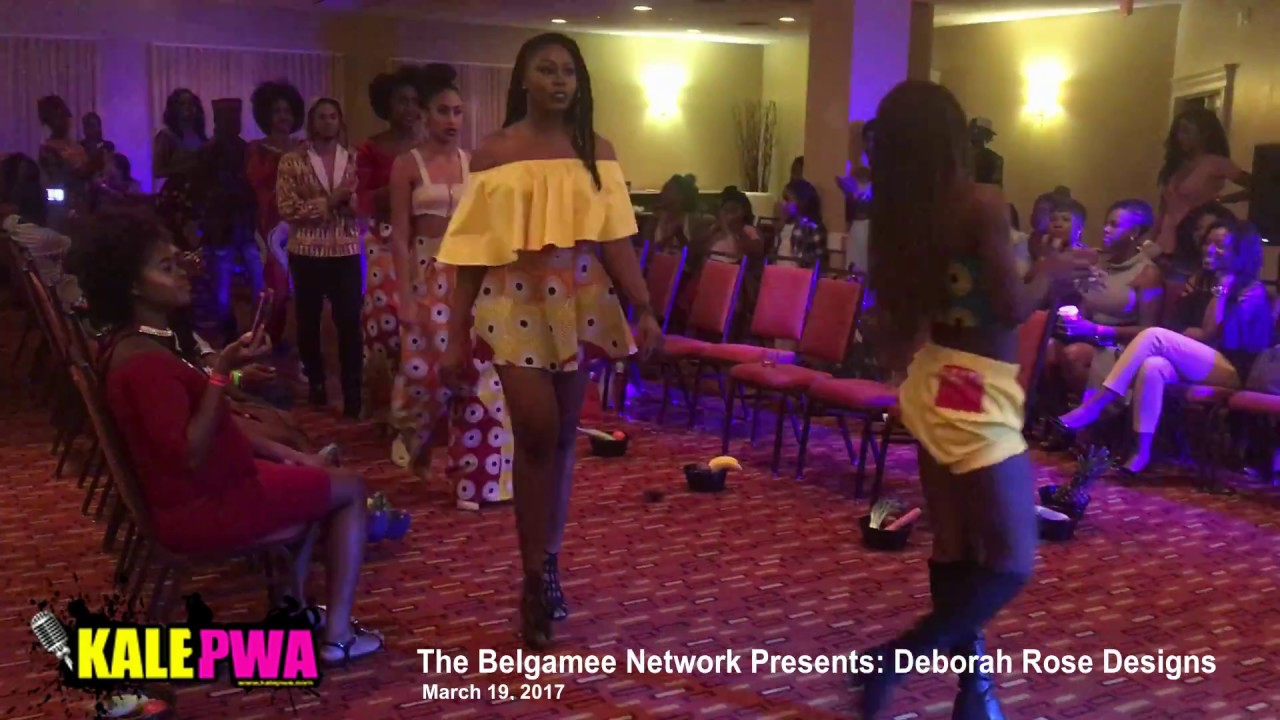 Deborah Rose Designs Belgamee Network Fashion Show Youtube