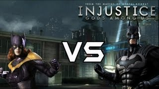 Injustice Gods Among Us - Batgirl Vs Bat Family with Lore & Skins