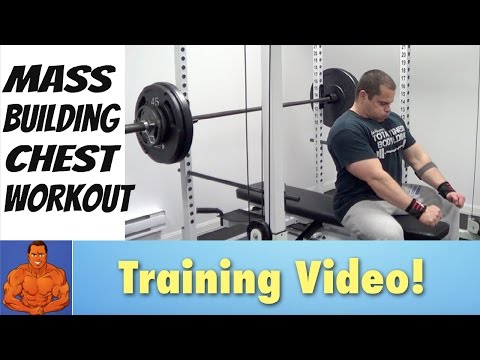 Mass Building CHEST Workout - Do This For BIGGER Pecs!