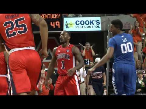 Auburn Basketball Highlights vs. Kentucky