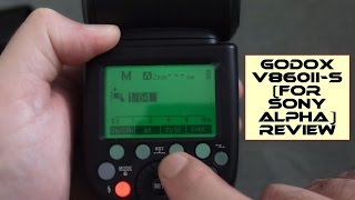 Godox V860II S Flash/Speedlight Review