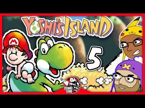 Par of Para Para Para Goombas: Yoshi's Island -Ep 5- Ferret Fight (Playthrough)