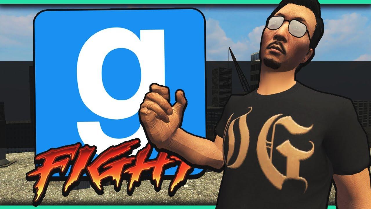 Gmod Ragdoll Fight Funny Moments! - Dragon Ball FighterZ, Rick and Morty!  (Garry's Mod Sandbox)