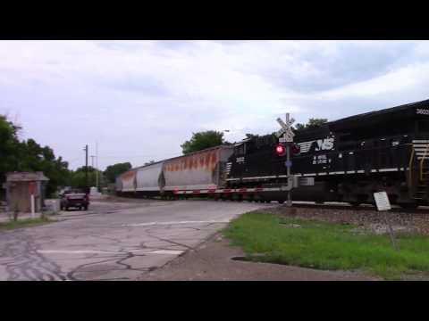 Norfolk Southern at Monroe Street in Delphi Indiana