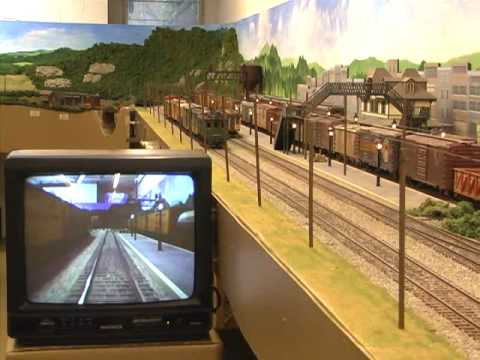 How to View Your Model Railroad Using Micro-Mark #83740 Wireless Micro Camera