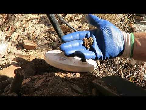 Big Arizona Gold Nugget Found Metal Detecting 26 Grams !!