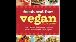 Fresh and Fast Vegan Cookbook Review Thumbnail