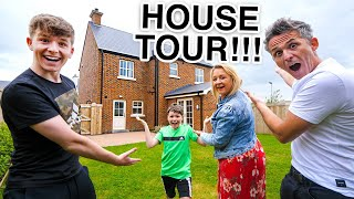 OUR NEW HOUSE TOUR!! FAMILY 4 HOUSE TOUR