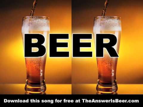 """The Answer (is BEER)"" - video for funny drinking song"