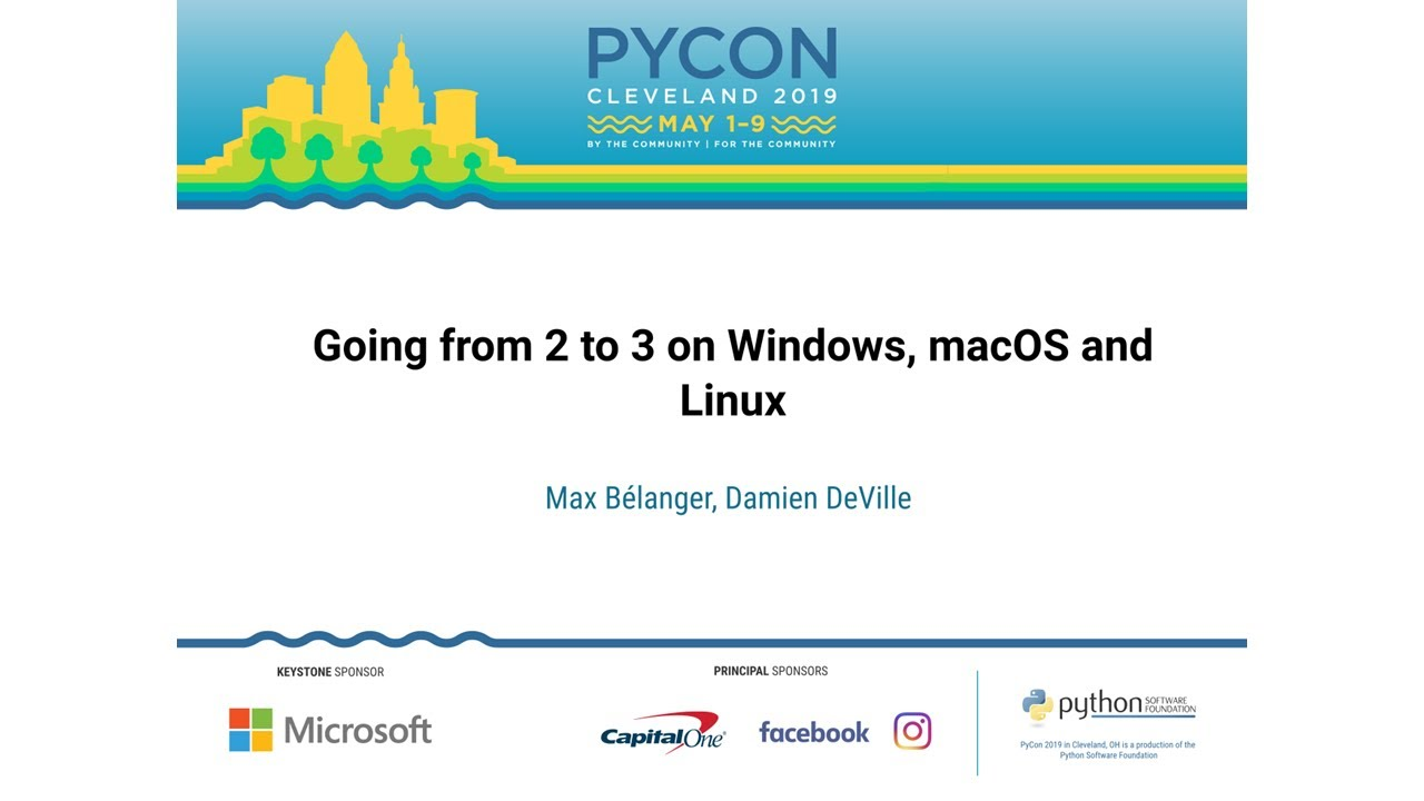 Image from Going from 2 to 3 on Windows, macOS and Linux