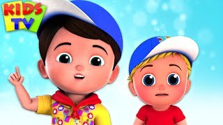 No No Song | Junior Squad Cartoons | Nursery Rhymes for Children by Kids TV