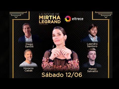 La noche de Mirtha con Juana - Programa 12 - 12/06/21